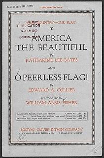 America the Beautiful American patriotic song