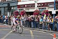 American rider on Putney High St August 2011.jpg
