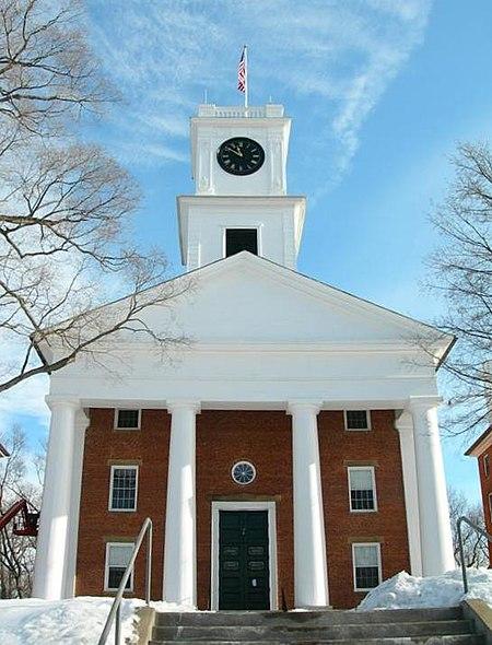 Datei:Amherst College Johnson Chapel winter.jpg