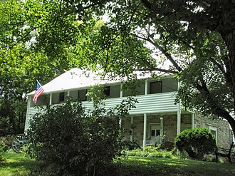 National Register of Historic Places listings in Hawkins County, Tennessee - Image: Amis House Rogersville tn 1