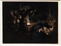 Amsterdam - Rijksmuseum - Late Rembrandt Exposition 2015 - The Adoration of the Shepherds - a Night Piece c.1652 A.jpg