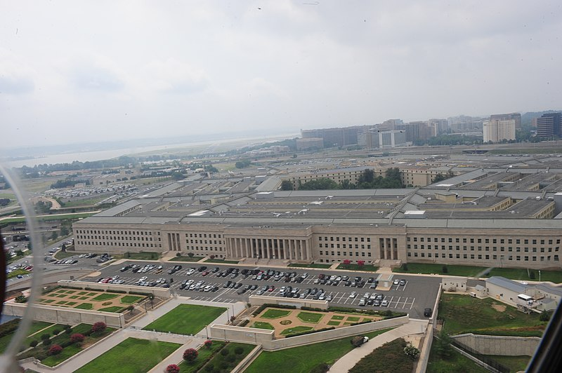 File:An aerial view of the Pentagon as seen from a Marine Corps CH-46 Sea Knight helicopter, July 8, 2011 110708-M-KS211-116.jpg
