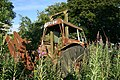 An old tractor at Bowland - geograph.org.uk - 1392844.jpg