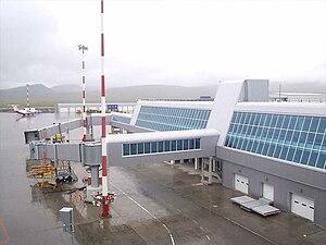 Ugolny Airport - Image: Anadyr Ugolny August 2006