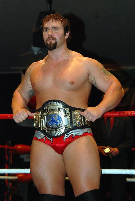Gunner as the NWA Anarchy Heavyweight Champion. - Gunner (wrestler)