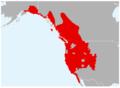 Anaxyrus boreas range map.png