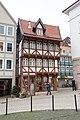 Andreasplatz, rekonstruiertes Fackwerkhaus, Umgestülpter Zuckerhut Hildesheim 20171201 002.jpg
