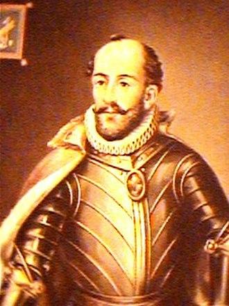 Andrés Hurtado de Mendoza, 3rd Marquis of Cañete - Image: Andres Hurtado de Mendoza