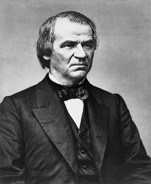 Stinkin' Thinkin' With Andy!: Hey! You! Did you know ... Andrew Johnson