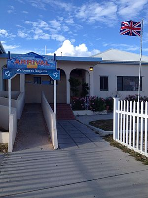 Blowing Point, Anguilla - Ferry Terminal