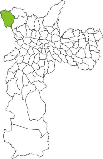 Anhanguera (district of São Paulo) - Image: Anhanguera