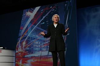 Ann Livermore - Ann Livermore, speaking in 2010.