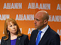 Annie Lööf och Fredrik Reinfeldt, 2013-09-09 03.jpg