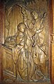 Annunciation, Wood Panel, Normandy, early 16th century, The Cloisters (3223756270).jpg