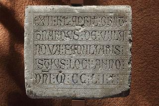 Épitaphe de Bernardus de Villanova