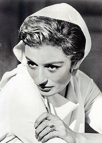 Anouk Aimée - Anouk Aimée in 8½, 1963