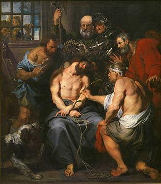 Christ Crowned with Thorns (van Dyck) - Image: Anthonis van Dyck 004