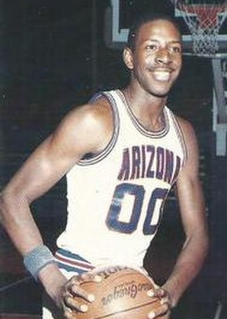 Anthony Cook (basketball) - Cook, circa 1987