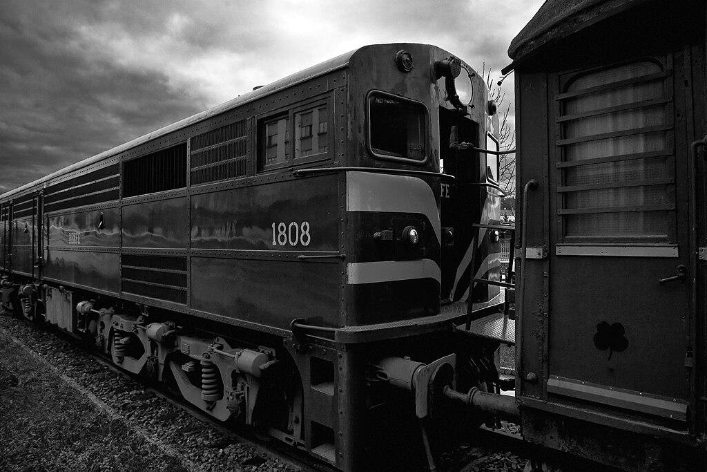Linternas de ferrocarril vintage rayo