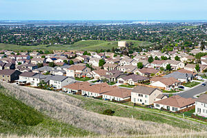 Antioch, California - View of Antioch from Black Diamond Mines Regional Preserve