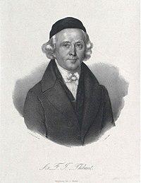 Portrait of Anton Friedrich Justus Thibaut by an unknown artist (Source: Wikimedia)