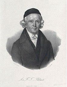 Anton Friedrich Justus Thibaut (Quelle: Wikimedia)