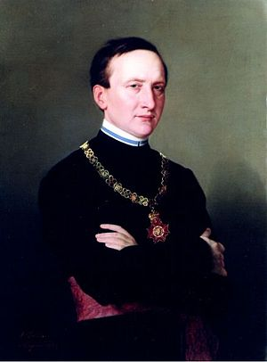 Anton Kržan - Anton Kržan, an 1877 painting by Antonio Zuccaro