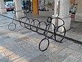 Aparcamento de bicicletas en Ribadeo 20170919.jpg
