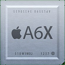 Description de l'image Apple A6X chip.jpg.