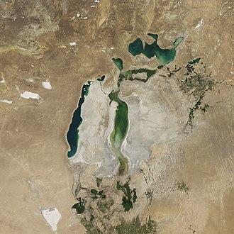Aral Sea August 2017