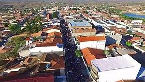 Arara, Paraíba - Panoramic view of the city