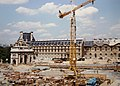 Arc de Triomphe du Carrousel and Aile de Marsan, Palais du Louvre, Paris 1993.jpg