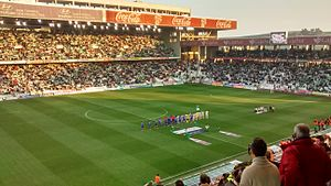 Córdoba CF - Match of Segunda División between Córdoba C.F. and C.D. Leganés (2:3), January 2016.