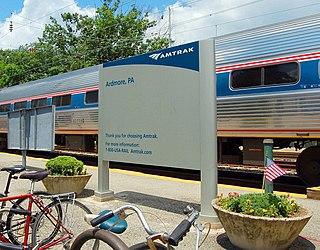 Ardmore station (Pennsylvania) train station in Pennsylvania