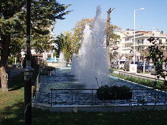 Argyroupoli - Kosta Varnali Square in Argyroupoli