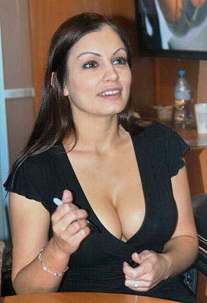 Aria Giovanni at AVN Expo