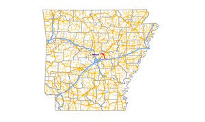 Arkansas Highway 89 - Image: Arkansas 89