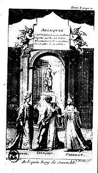 Arlequin roi de Serendib cover