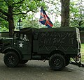 Armoured Vehicle with Graffiti - geograph.org.uk - 1168888.jpg