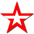 Army of Russia (non-official logo for souvenirs and commercial use, 2014) red and white version.png