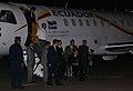 Arribo al país del Presidente Correa y del Canciller Patiño tras haber participado en la Cumbre de la Unidad en México (4385009612).jpg
