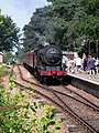 Arrival at Holt Station - geograph.org.uk - 395795.jpg