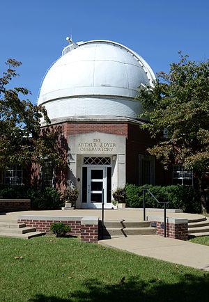 Dyer Observatory - Image: Arthur J. Dyer Observatory Brentwood TN 2014