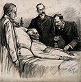 Arthur Wellesley, first Duke of Wellington on his deathbed. Wellcome V0006938.jpg