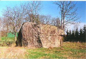 Aruküla - Image: Aruküla kivi 2005