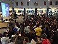 Arwen Elys Dayton at school visit in Chicago.jpg