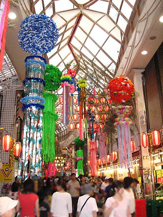 Suginami - Asagaya Tanabata Festival, held in August