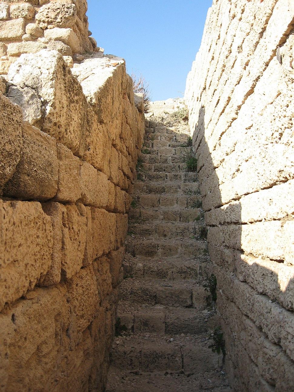 Ashdod Mezuda Stairs