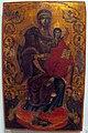Asia minore, madonn col bambino in trono tra arcangeli e profeti, fine del xviii sec.JPG