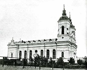 Lymanske (urban-type settlement) - Assumption Church in Selz (beginning of 20th century)